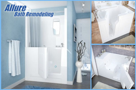 Bathtub Conversions For Seniors In Phoenix & Scottsdale AZ - Walk In Tub With Shower