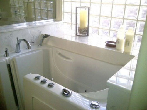 Walk In Tub Installed