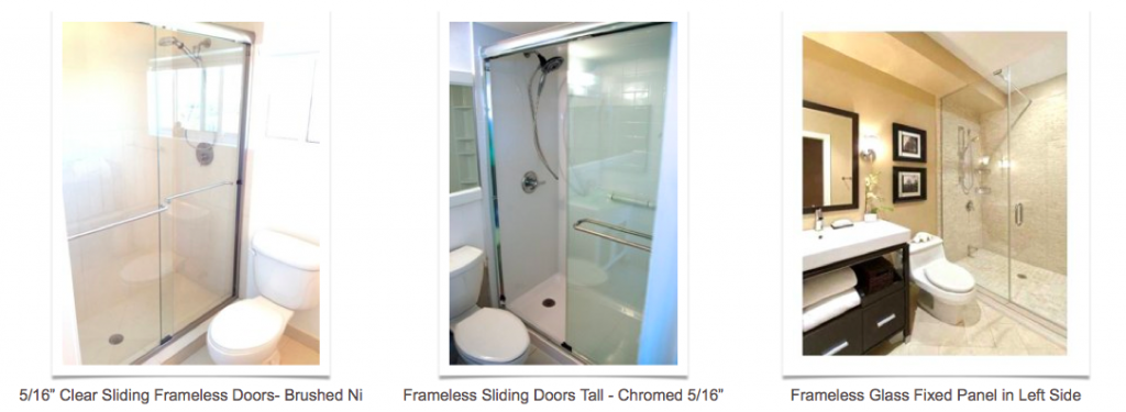 Frameless Glass Door Enclosures