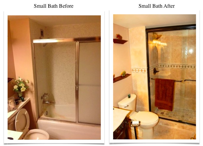 small bath renovation