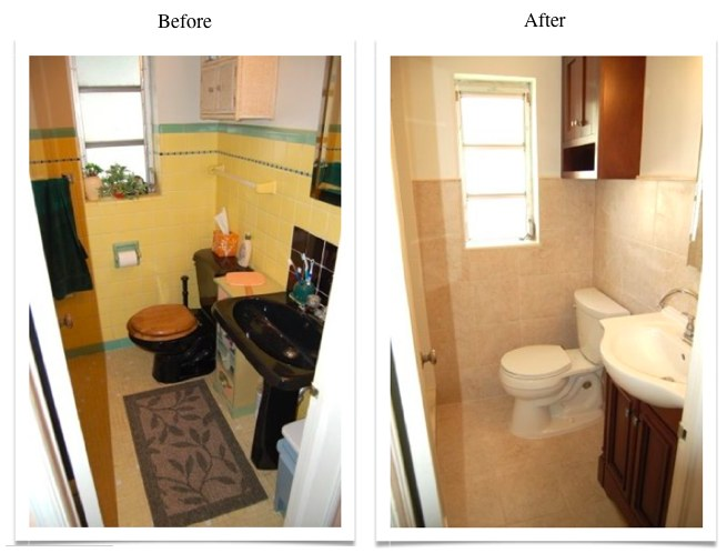 whole bath renovation