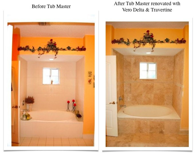 Travertine Transformation Bathroom Remodel-11