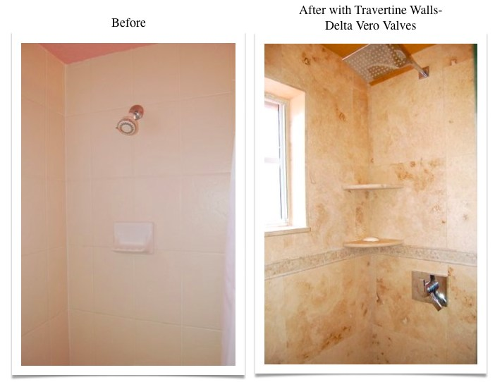 Travertine Transformation Bathroom Remodel-12