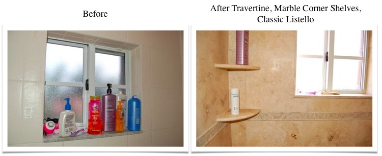 Travertine Transformation Bathroom Remodel-13