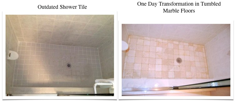 Travertine Transformation Bathroom Remodel-16