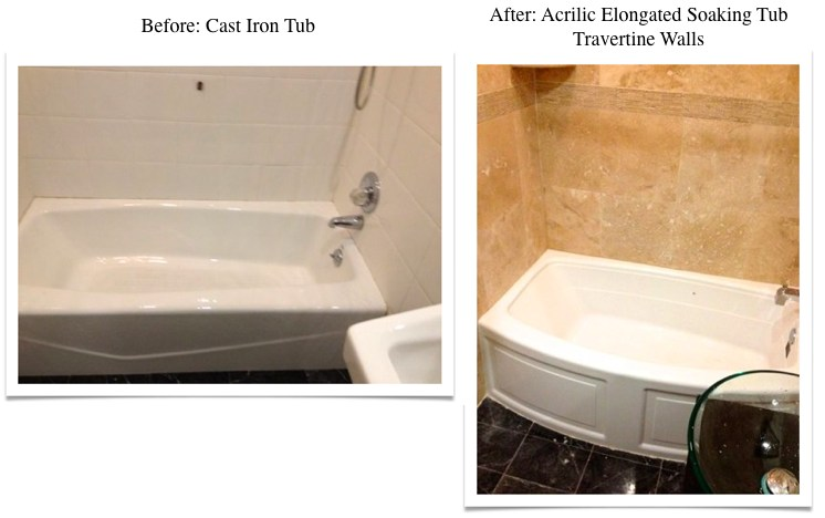 Travertine Transformation Bathroom Remodel-17