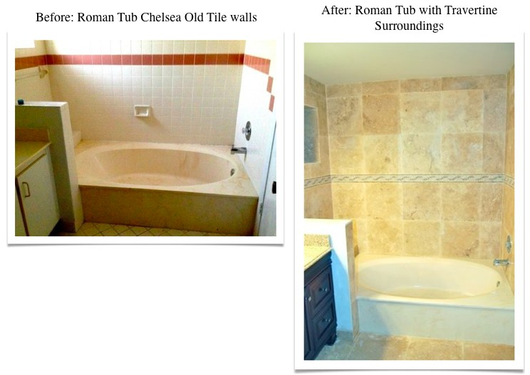 Travertine Transformation Bathroom Remodel-18