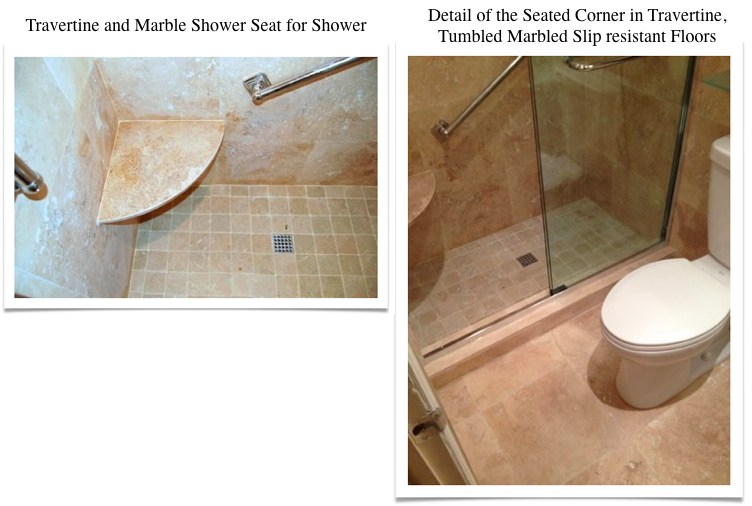Travertine Transformation Bathroom Remodel-22