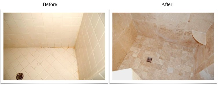 Travertine Transformation Bathroom Remodel-8