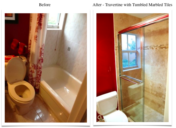 Tub-to-Shower Conversion -1