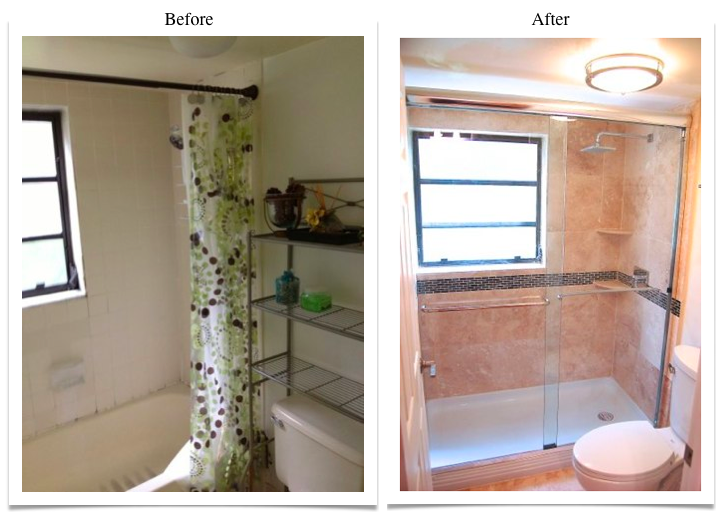 Tub-to-Shower Conversion -4