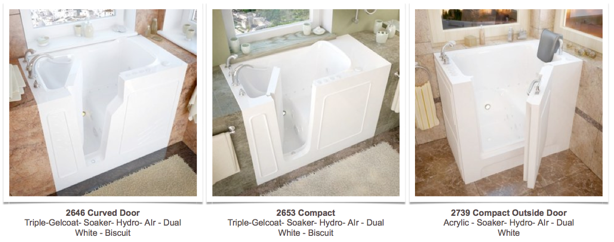 walk-in tub photo gallery