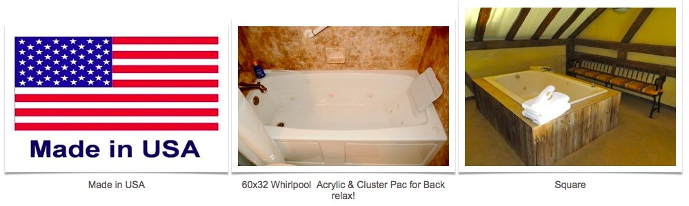 whirlpool and jetted tubs