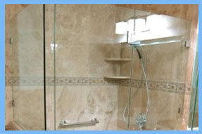 Handicap Bathtub Frameless Glass