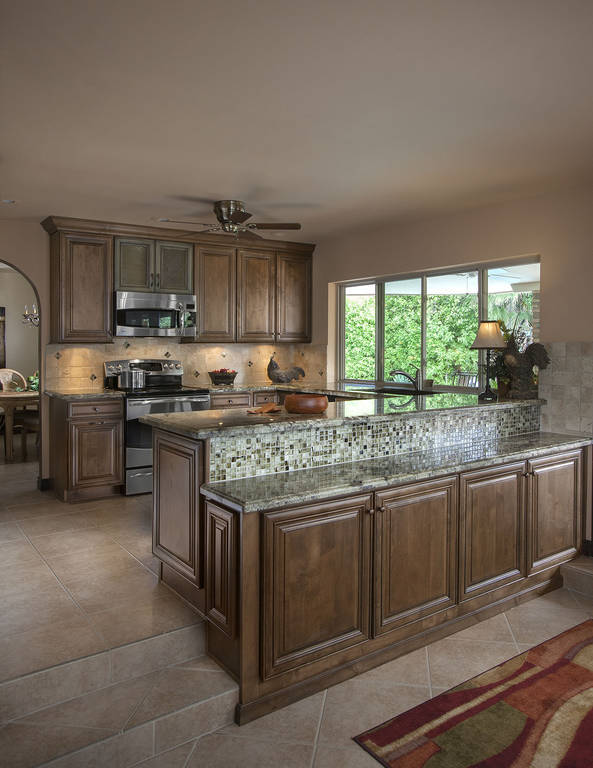 Custom Granite Countertop Phoenix Island