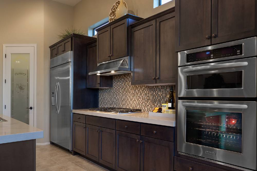 Custom Remodeled Kitchen In Phoenix Cabinets