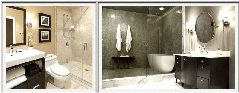Glass Shower Doors & Bathroom Vanities