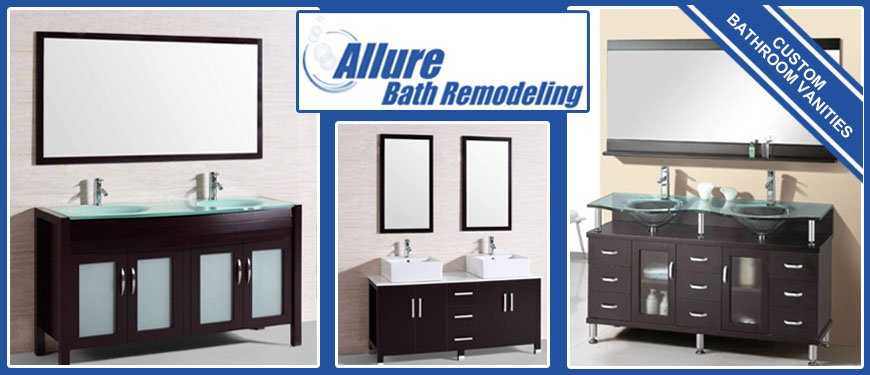 Custom Bathroom Vanities Phoenix Installation Allure Bath Remodeling - Bathroom vanities phoenix