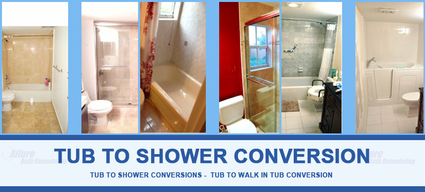 Tub to Shower Conversion Glendale, AZ