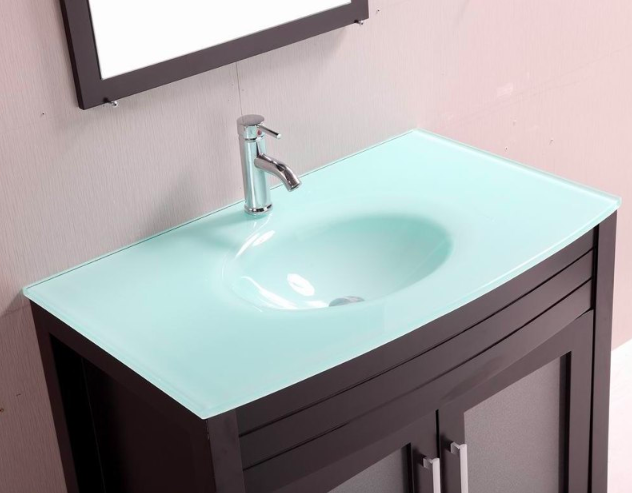 phoenix bathroom vanity bathroom vantity top glass 1 of 3