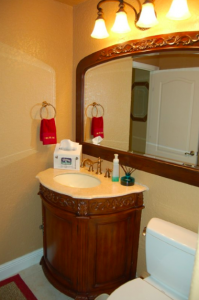 Bathroom Vanity Remodeling With Glass Mirror Installation Phoenix